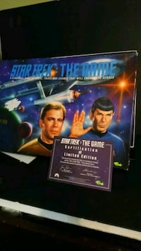 Star trek board game limited edition