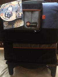 Ci Sport Rolling Cooler with AT cart Reston, 20194