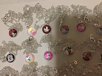 Disney and hello kitty necklaces Toronto, M4J 3E1
