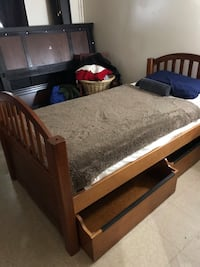 Twin bed with mattress  Plainfield, 07060