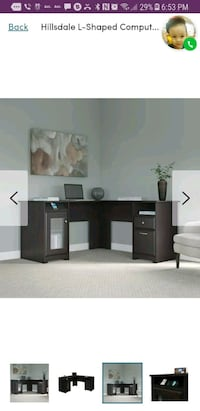 L Shaped Computer Office Desk ( Brand New) Los Angeles, 90049