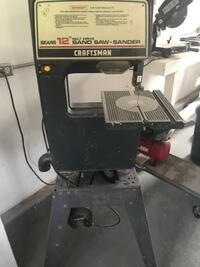 black and gray Craftsman table saw Orange County