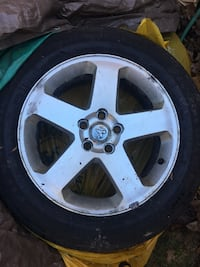 Dodge Charger AWD rims and tires Brampton
