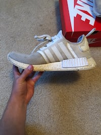 All white adidas nmd r1 size 9 Prospect, 06712