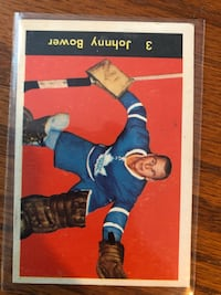 60-61 parkhurst Johnny bower  Toronto, M6H 2V8