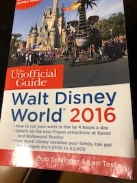 Walt Disney 2016 Guide Book! Northampton, 18067