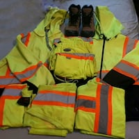 TCP / FLAGGER GEAR LOT OF HI VIS CLOTHING $$ SAVE! Chilliwack, V2P 4M3