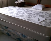 Twin box spring and mattress  ,  BARRIE