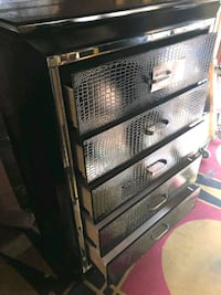 Black crocodile 5 Drawers Chest • Brand New• Same day Delivery ???? •