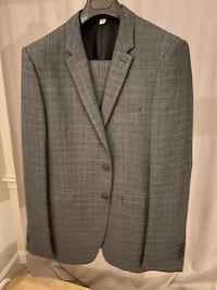 Brand New Authentic Burberry Suits Dark Gray Size 52R US 42 海厄兹维尔, 20782