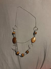 Brown necklace with matching earrings  Knoxville, 37912