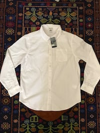 white button-up long-sleeved dress shirt Great Falls, 22066