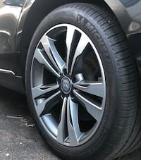 """Brand new from a 2018 S550 with Sport Package purchased two months ago from the dealer  19"""" original Mercedes-Benz Wheels with Michelin Pilot Sport Tires  245/45/19 front  275/40/19 rear  All Season tires for all year driving  TPMS and Center Caps include New York"""