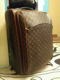 brown and black Louis Vuitton leather backpack Lake Charles, 70605
