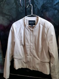 women lather jacket