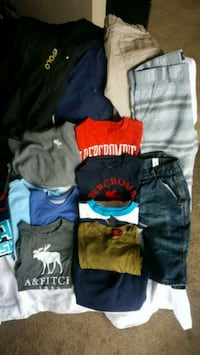 Boys size 7-8 clothing lot Edmonton, T5T 1M1