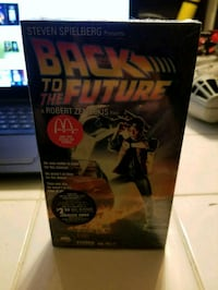 Back to the future 1985 sealed vhs Las Vegas, 89142