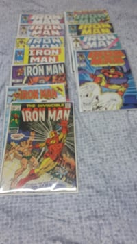 Iron-man comic book lot Brampton