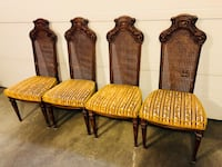 Antique Dining Chairs Set of 4 Calgary, T3Z 0Y2