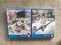 two Sony PS4 game cases Denver, 80211