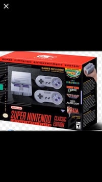 Super Nintendo Classic Edition - like new! Barely played! Cash or PayPal only. Greer, 29650