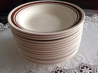 Set of 15 dining dishes grate conditions very clean no chips made in brazil  all 15 Hamilton, L8V 4K6