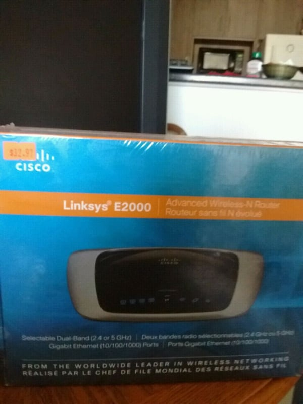 Linksys e2000 wireless n router new in box 946c58d2-e672-4b18-a2fc-6c1ef81e7914