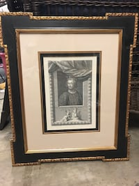 man with crown portrait with black frame Jersey Village, 77040