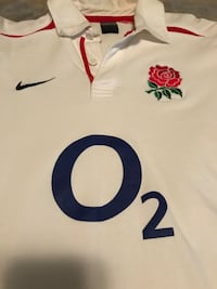 England O2 Nike Long-sleeve Rugby Jersey Large Maple Grove, 55369