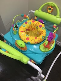 Baby's blue and green activity saucer Brampton, L7A 2H5