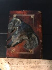Decorative book with 3 D Elephant on cover - small way to add decor Mount Pleasant, 29466