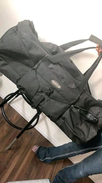 Huge duffle bags with wheels and pull along