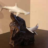 John Perry Dolphins Figurine