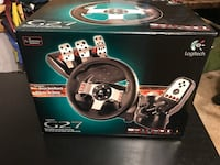 Logitech g27 racing wheel, pedals, shifter Sterling, 20164