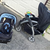 Lux stroller and car seat