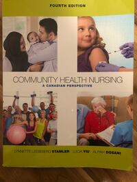 Community Health Nursing - A Canadian Perspective + Online access code Mississauga, L5E 2M2