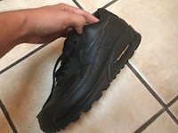 Black Learher Nike Air Max 90 Cathedral City, 92234