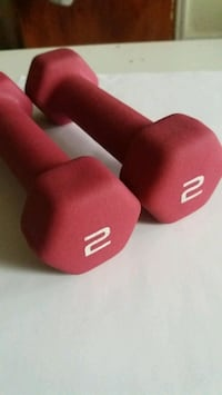 Set of 2 pounds weights pink Chicago, 60623