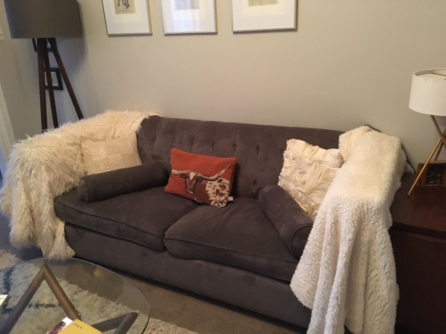 Used West Elm Rochester Couch In New York   Letgo
