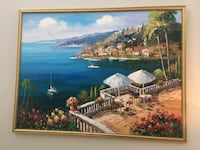 Authentic Italian Oil on Canvas Painting  Tampa, 33626