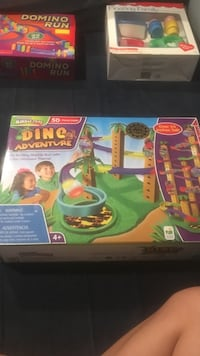 Dino Adventure toy set box Rockville, 20850