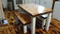 Custom kitchen table and benches Decatur, 62522