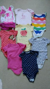 Assorted baby girl clothes 9-12 months  Burnaby, V5H 4T5