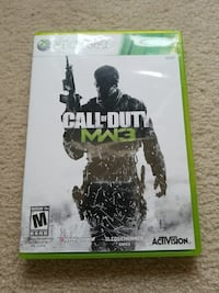 Call of Duty MW3 Xbox 360 game case Whitchurch-Stouffville, L4A 0L8