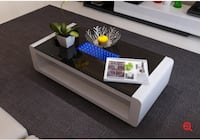 black and white wooden coffee table Brampton