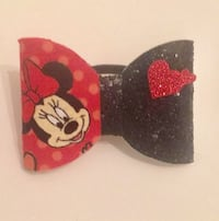 Black and red mickey mouse print cap Jackson, 39212