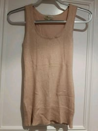 Costa Blanca Soft rose beige size small tank-shimmer Toronto, M6B 3J3