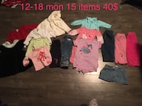 toddler's assorted clothing Edmonton, T5Z