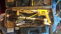 DeWalt corded power tool with case