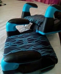 toddler's two black-and-blue booster seats Norfolk, 23502